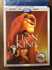 Lion King BluRay & DVD Slipcover Canada Bilingual NODC LOOK Signature Collection
