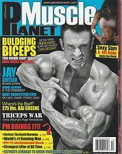 DEC 2009 PLANET MUSCLE vintage body building magazine DAN DECKER