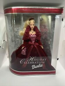 2002 Holiday Barbie Holiday Celebration Special Edition #56209 New Sealed
