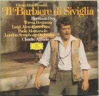 ROSSINI The Barber of Seville 3-LP w/ Hermann Prey, Teresa Berganza, LSO, Abbado