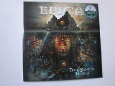 EPICA THE QUANTUM ENIGMA 2LP DARK GREEN VINYL 275 COPIES ONLY