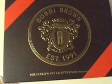 NIB Bobbi Brown Deluxe Lip & Eye Palette, Ltd. Ed. AS IS due to age