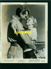 MARILYN MONROE KEITH ANDES VINTAGE 8X10 PHOTO ROMANTIC 1952 CLASH BY NIGHT
