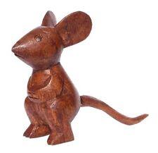 Schöne Maus Holz Tier Figur Kinder Spielzeug KTier05