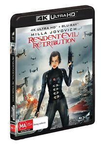 BRAND NEW Resident Evil : Retribution (4K UHD Blu-Ray, 2021) *PREORDER