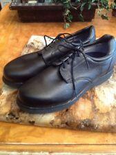 PW Minor Shoe Orthotic Orthopedic Diabetic Black Oxford Sz 12  Vibram Sole