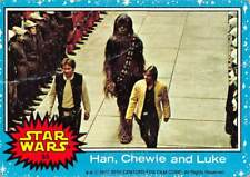 /> Harrison Ford /> Poor 1977 Topps Star Wars Red #111 Chewie And Han Solo