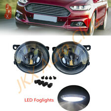 For Ford Fusion 2013-2016 Clear Bumper LED Bulb Fog Lights Driving Lamps 1 Pair