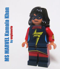 LEGO Custom - Ms Marvel kamala khan - Superheroes X-Men Graphic Novel deadpool
