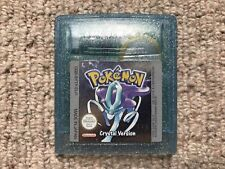 Pokemon Crystal - Game Boy Cart Only 100% Genuine! New Battery Fitted! (A)