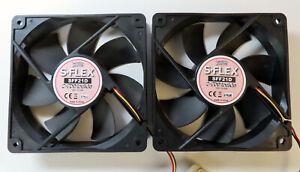 Lot de deux Ventilateurs de boitier PC Scythe S-Flex SFF21D 800RPM 120mm