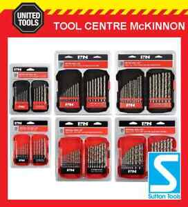 P&N BY SUTTON TOOLS HSS METRIC & IMPERIAL DRILL BIT SETS - REPLACES FROST