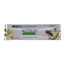80 Strip ManHao Tau-Fluvalinate Strip Bee Mite Varroa Killer Beekeeping Medicine