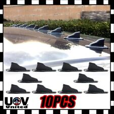 EVO Carbon Fiber Air Vortex Generator Shark Fin Jet Spoiler Trunk Roof Diffuser
