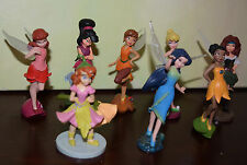 "Disney Store 3.5"" DISNEY FAIRIES LOT Pirate Fairy Figure Zarina Iridessa RARE"