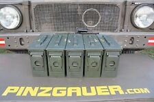 AMMO Can Box US ARMY Military Surplus M19A1 Metal Box Lid Seal 30 Cal Set of 5