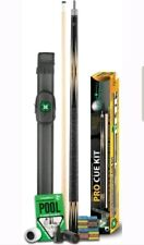 McDermott pro cue kit 2-piece maple American pool cue, case & accessories BOXED