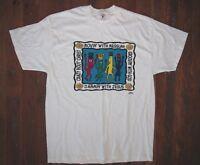 Vtg 80s 90s JAMMIN WITH JESUS Reilgious God CHRISTIAN T-SHIRT Funny Dance Sz XL
