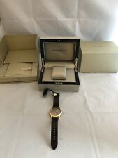 EMPORIO ARMANI Swiss Made Gold Men Gents Watch ARS3019 RRP £600 NEW 50M/165 Feet