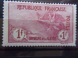FRANCE N° 154 ORPHELIN NEUFS GOMME SANS CHARNIERE NI TRACE