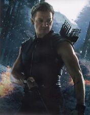 """~~ JEREMY RENNER Authentic Hand-Signed """"AVENGERS ~ HAWKEYE"""" 11x14 Photo B~~"""