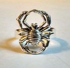 Sterling Silver Spider Ring Sizes 6, 7, 8, 9  S761