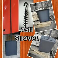 Fireplace/Box Stove Ash Shovel, Made by Blacksmith, Camping, Fire Pit Accessory