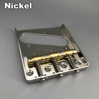 Vintage Nickel Guitar Bridge Brass Saddle For Telecaster Guitar