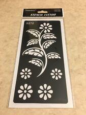 USA SELLER!!  1 Pc Reusable Henna Stencil Temporary Tattoo Sticker DYI #S272