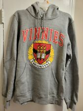 Men's Gray Vinnies Brooklyn Pullover Hoodie Size Small