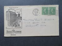 US 1923 Hotel Majestic Chicago Cacheted Cover / Used - Z7784