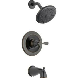 Porter Single-Handle 3-Spray Tub and Shower Faucet in Oil Rubbed Bronze