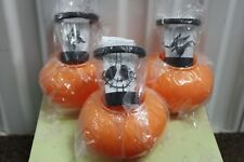 NIGHTMARE BEFORE CHRISTMAS VOTIVE CANDLE HOLDERS Disney Store 2005 Tealight NEW