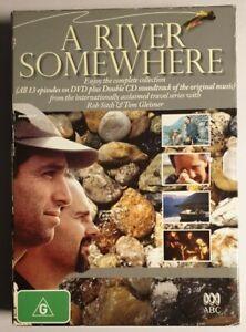 A River Somewhere : Series 1-2 (DVD & CD Set, 2005) Region 4 Preowned