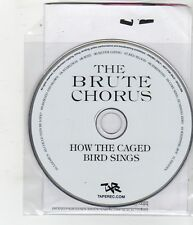 (FQ479) The Brute Chorus, How The Caged Bird Sings - 2010 DJ CD