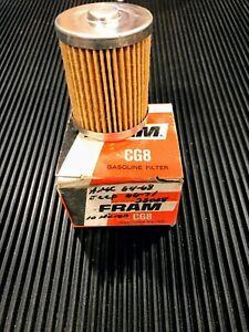 FRAM FUEL FILTER CG8 1966 - 1971 JEEP 1964 - 1968 AMC