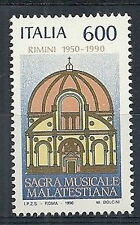 1990 ITALIA SAGRA MUSICALE MALATESTIANA MNH ** - ED