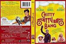 BRAND NEW Rare Full Frame Chitty Chitty Bang Bang DVD DICK van DYKE SALLY HOWELL