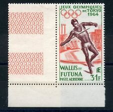 STAMP / COLONIES FRANCAISES  WALLIS ET FUTUNA N° PA 21 ** COTE + 24 € JAVELOT