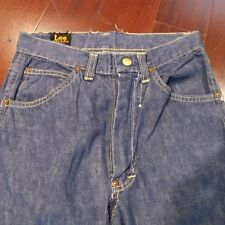 Vintage Original Kid Lee Riders Size 12 Crotch Rivet W26 L26