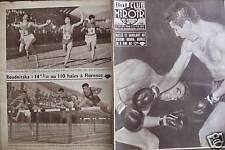 LE MIROIR DES SPORTS 1956 N 596 BOXE : HUMEZ- FESTUCCI