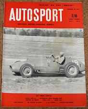 Autosport 20/2/53 - ARGENTINE GP - WORLD CHAMPION ALBERTO ASCARI PROFILE