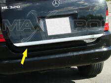 Mercedes ML W163 Tuning Kofferraum-Heckleiste-Zierleiste Chrom Bj. 97-05 *SALE