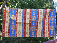 Colourful Turkish table cover 65x125 cm chenille cotton polyester Made in Turkey