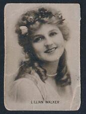 1915-1917 Movie Theater Promo Card -LILLIAN WALKER