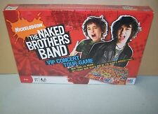 New 2008 Milton Bradley The Naked Brothers Band VIP Concert Tour Game