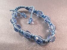Blue Shamballa Chinese Crystal Faceted 10mm Bracelet 1pc