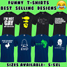 FUNNY MENS T-SHIRTS JOKE NOVELTY TEE RUDE DESIGN GIFT FOR HIM DAD S - 5XL