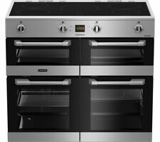 Leisure CS100D510X 100cms Electric Induction Range Cooker - Stainless Steel