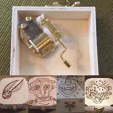 Harry Potter Wind Up Musical Trinket/Jewellery Box. Choice Of Designs. Hedwigs
